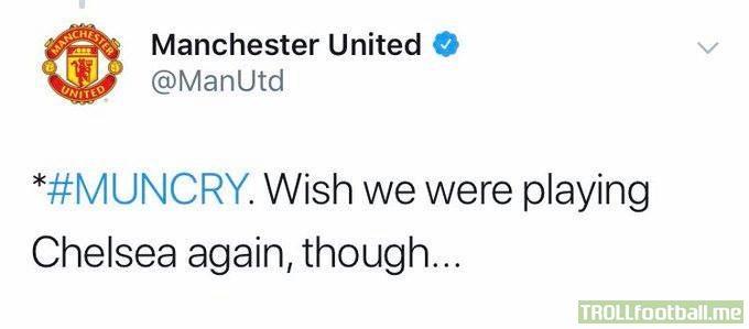 The Man United admin knew 😂