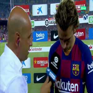 Griezmann: The second goal? I saw Messi do it in training and copied him