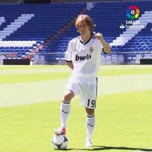 7 years ago from today: Luka Modric signed for Real Madrid