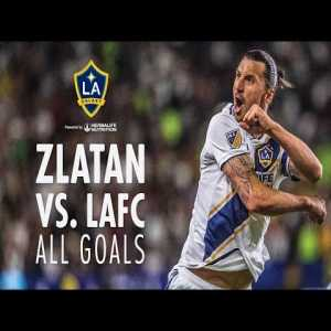 Highlights: All of Zlatan Ibrahimovic's goals against LAFC (so far)