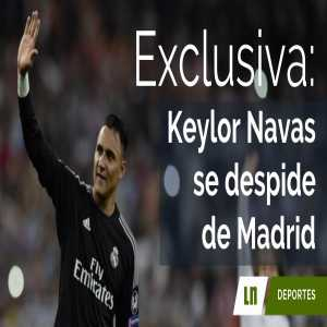 [Nacion] Keylor Navas is off to PSG - he already said his goodbyes to the manager and his team mates.