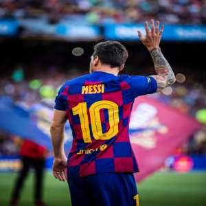 Messi wins UEFA Attacker of the Year Award!