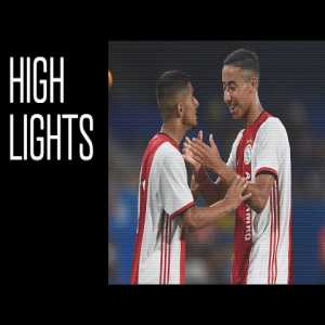 Highlights FC Barcelona O19 - Ajax O19 with 16-year old Naci Unuvar stealing the show