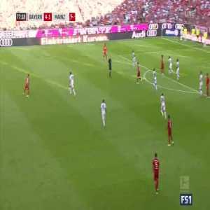 Bayern Munich [5]-1 Mainz - Lewandowski 78'