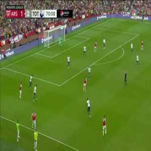 Arsenal [2]-2 Tottenham - Aubameyang 70'