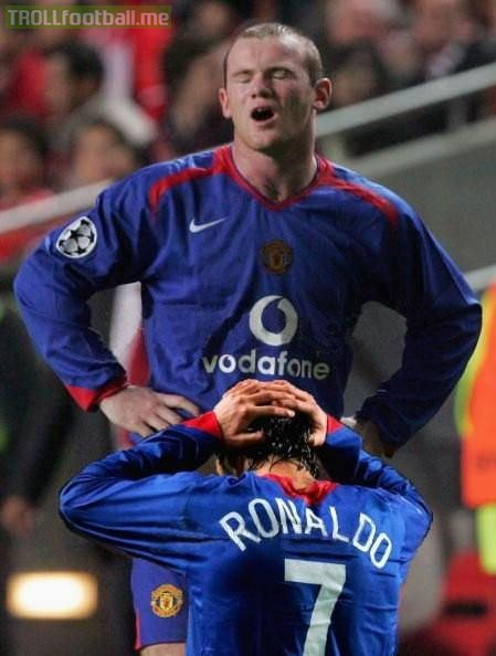 History Behind Rooney and Ronaldo's lethal Partnership
