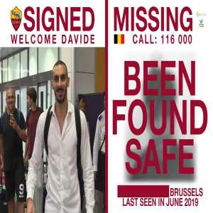 More good news from Roma! A 9-year-old boy who featured in the #ASRoma Zappacosta video 12 days ago, after going missing in Belgium, has been found safe.