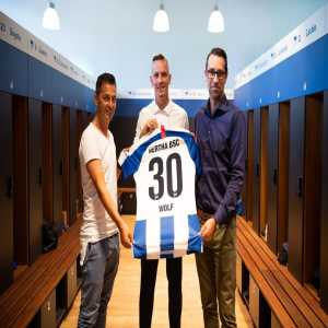 Official: Hertha BSC sign Marius Wolf on loan from Borussia Dortmund