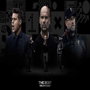 """TheBest"" Men's Coach Finalists are Pep Guardiola, Jurgen Klopp and Mauricio Pochettino."