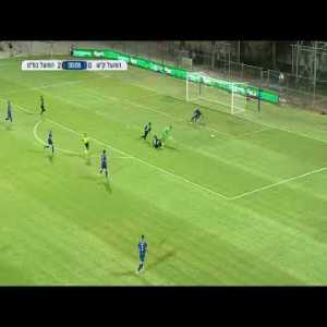 Lithuanian goalkeeper Džiugas Bartkus tries to pull a Neuer, royally fucks up, then manages to save his own ass.