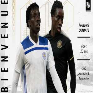 Official: Fousseni Diabate joins SC Amiens on loan from Leicester City FC