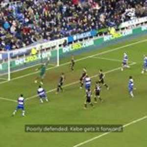 Scenes in injury-time for Reading Football Club 👀  GoalOfTheDay PL