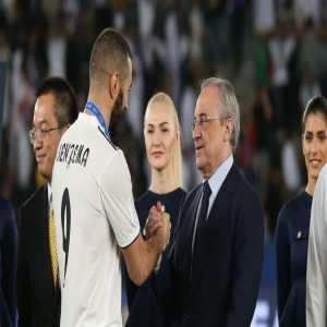 "Florentino Perez: ""Benzema was a mix of Zidane and Rolando when I saw him at Lyon"""