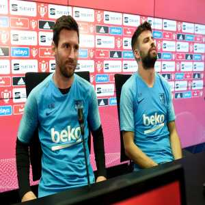 """Gerard Piqué on that clause in Messi's contract: """"I already knew Messi can leave for free at the end of each season. We know the commitment Leo has to Barça and it doesn't worry me at all"""""""