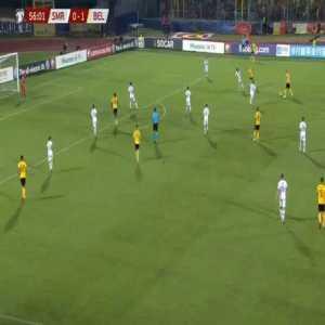 San Marino 0-[2] Belgium - Dries Mertens 57'