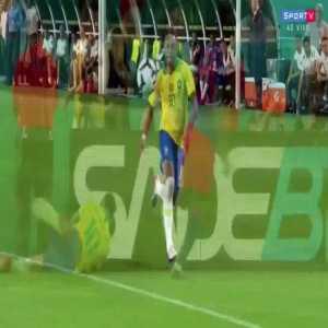Davinson Sanchez challenge on Neymar