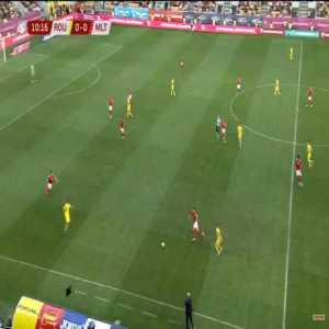 F. Andone (Romania) disallowed goal for offside against Malta 12'