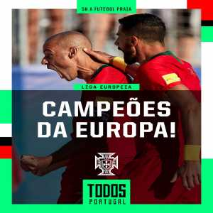 After conquering the Beach football EURO Portugal has now united the 4 male UEFA titles on offer holding the EURO, Nations League and Futsal EURO as well.