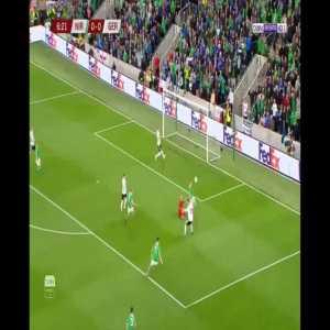 Neuer's save Vs Northern Ireland