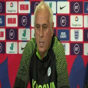 "Kosovo Manager: ""I support Man City"""