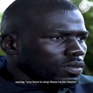 Koulibaly recalls a match against Lazio in which he was racially abused