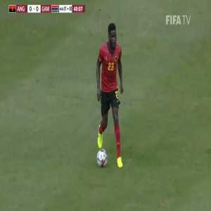 Angola [1]-0 Gambia - Geraldo