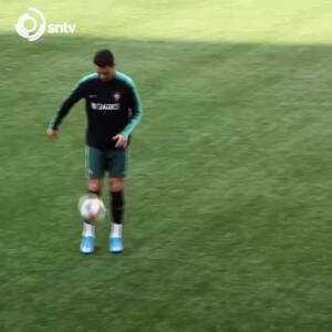 Cristiano Ronaldo amazing skill in training