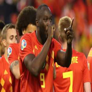 I see your Memphis Depay's stats for the Netherlands and raise your Lukaku's stats for Belgium: 25 goals in his last 22 appearances