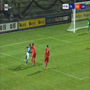 Italy U21 4-0 Luxembourg U21 - Marco Tumminello 68'
