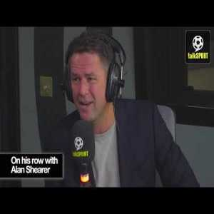 Michael Owen on alan shearer scuffle and his time in madrid.