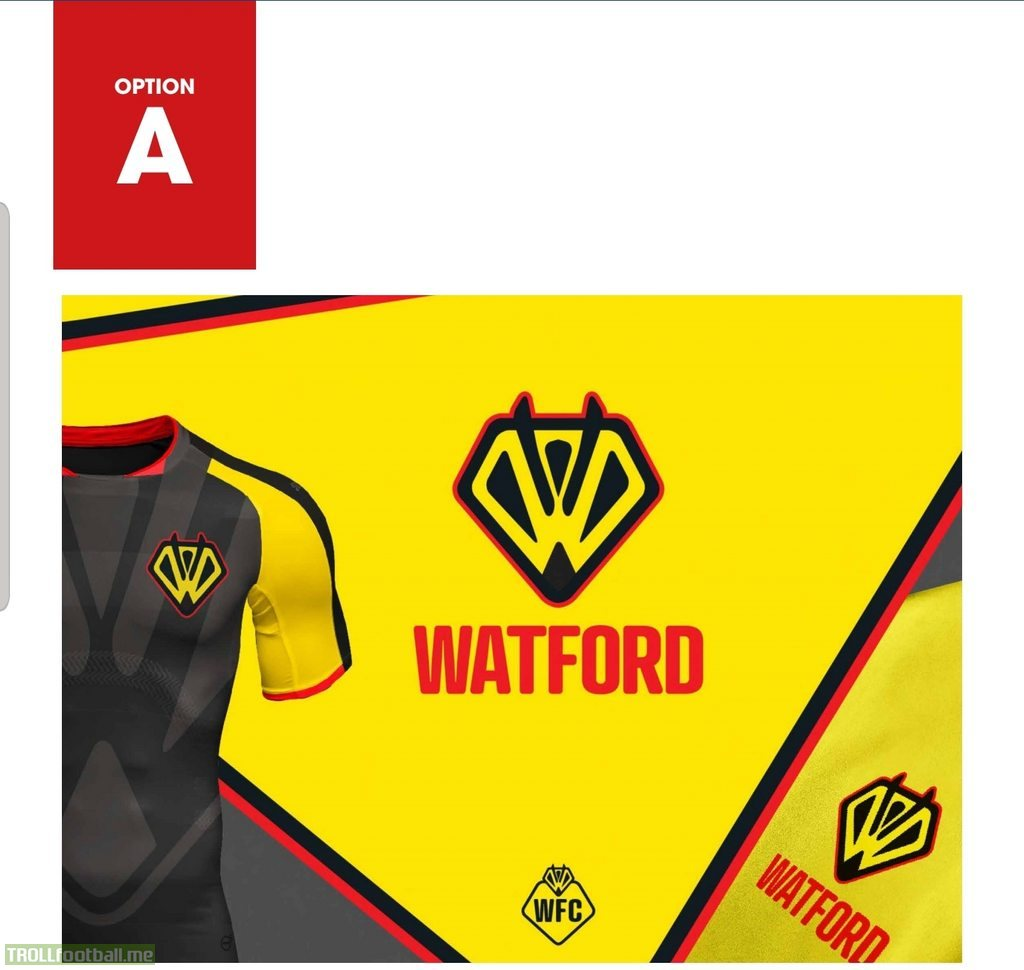 Official Watford FC Badge Proposal Shortlist