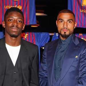 "Kevin Prince Boateng about O. Dembelé: ""He is just like a small child"""