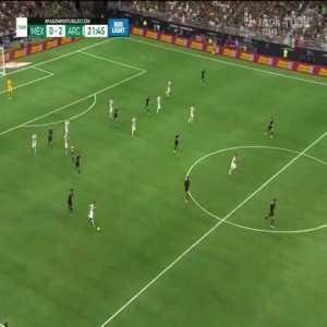 Mexico 0-2 Argentina | Lautaro Martínez 22'
