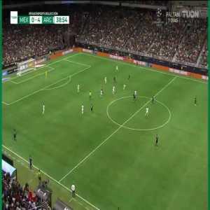 Mexico 0-4 Argentina | Lautaro Martínez hat trick 39'