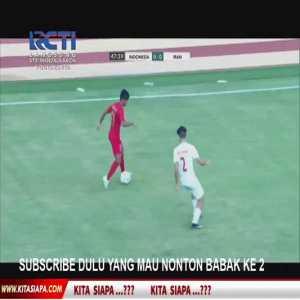U19 Indonesia 1-0 U19 Iran - Sutan Diego 47'