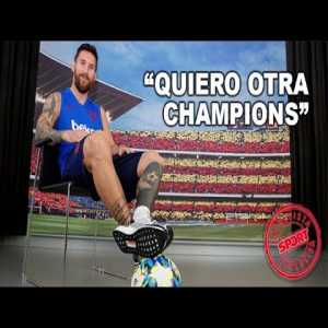 INTERVIEW WITH LEO MESSI(sport : english subtitles
