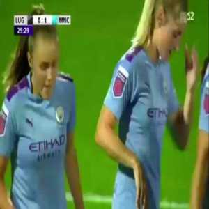 [UEFA Women's Champions League] FF Lugano 1976 0-1 Man City - Georgia Stanway 26'