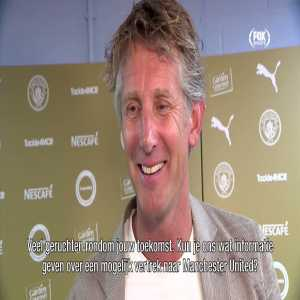 "Van der Sar won't go to United: ""I'm happy at Ajax where I'm Chief Excecutive, not DoF. I look forward to bringing Ajax back to the European top. We touched it last year, we need to stay there now."