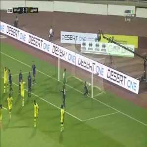 Al-Taawoun [3] - 2 Al-Adalh — Mansour Al-Muwallad 84' — (Saudi Pro League)