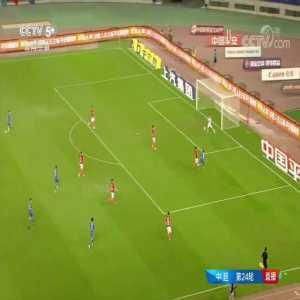 Miranda own goal in Jiangsu Suning