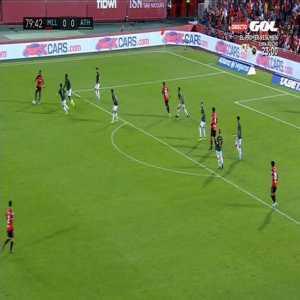 Penalty foul vs Takefusa Kubo '80