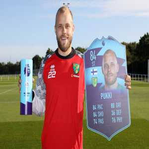 Pukki is the PL player of the month