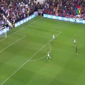 Rayo Vallecano [2]-0 Racing de Santander - Luca Zidane goes for the tie in the corner, Bebé ends up scoring 90+5'