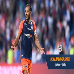Vitorino Hilton turns 42 today ; Montpellier center-back and captain has played all the minutes in Ligue 1 this season