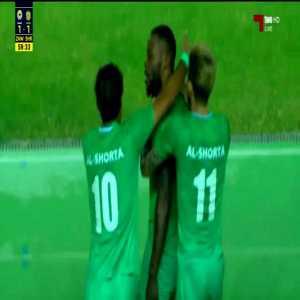 Al Zawraa 1-[1] Al Shorta - Junior Mapuku debut goal 59' [Iraqi Super Cup]