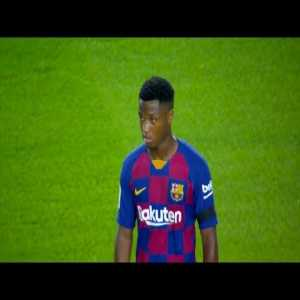 Ansu Fati performance against Valencia