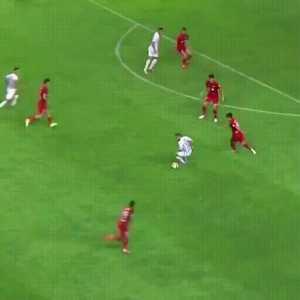 Eran Zahavi rabona goal vs Tianjin Quanjian
