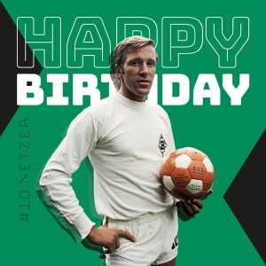 Günter Netzer turns 75 today. The greatest player in the history of Borussia M'Gladbach and one of the best playmakers ever.