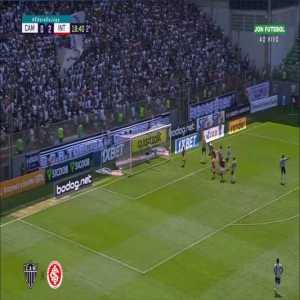Atlético Mineiro 0 - [3] Internacional - William Pottker 64