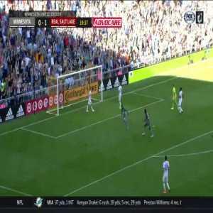 Minnesota United [1] - 1 Real Salt Lake - Darwin Quintero 20'